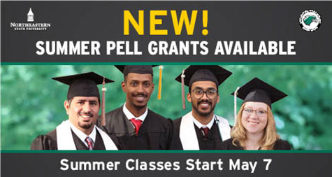NEW! Summer Pell Grants Available. Summer Classes Start May 7.