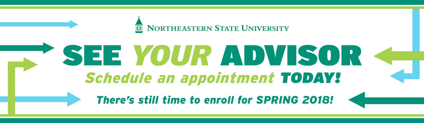 It's Spring 2018 Priority Enrollment Time. See Your Advisor! Schedule an appointment today!