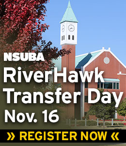 NSUBA RiverHawk Transfer Day, November 16. Register Now.