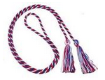 american veterans red, white and blue cord