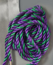 Kappa Delta Pi purple and jade green cord