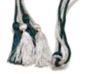 magna cum laude green and silver cord