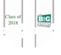 NSU Big Event Committee A white stole with gray trim, green lettering and the Big Event logo