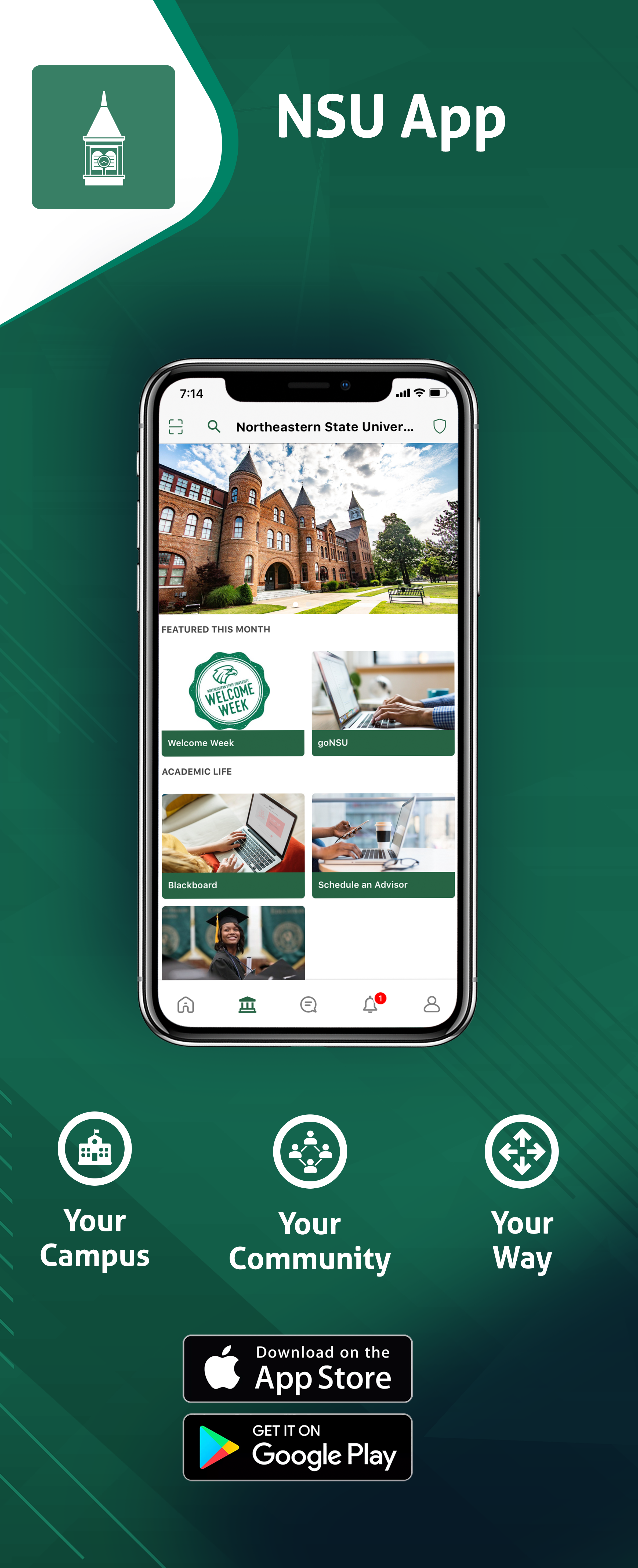 campus app now available
