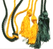summa cum laude green and gold cord