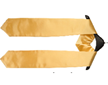 International Students (NSU) Gold stole with home country flag pin