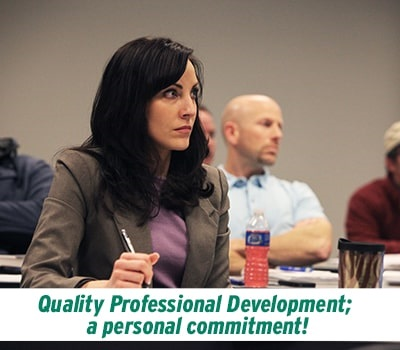 find information about professional development at nsu