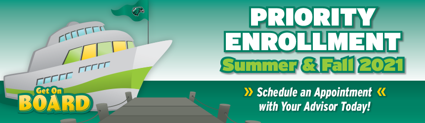 summer and fall 2021 priority enrollment is open contact your advisor now banner