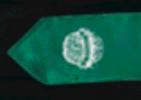 Psychology Club Green stole with white club logo