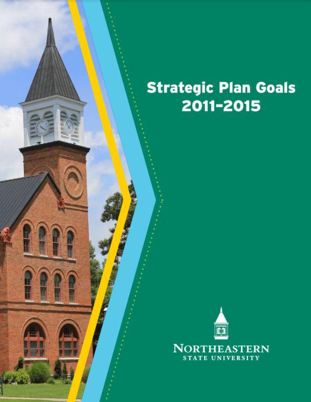 nsu strategic plan goals 2011-2015 cover page
