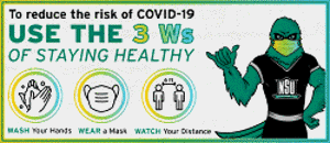 the three w acronym for covid safety wash wear and watch
