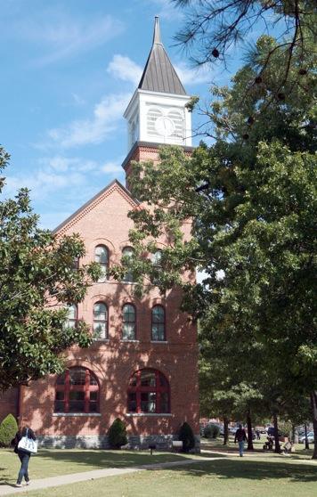Seminary Hall Clock tower