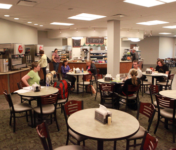 Image of Dining Services on Broken Arrow Campus.