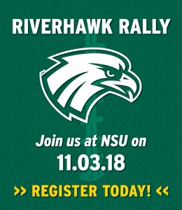 RiverHawk Rally. Join us at NSU on November 3, 2018. Register Today!