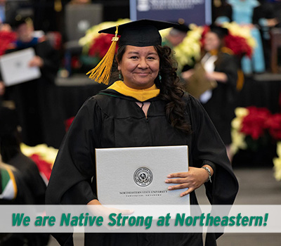 Native Student Graduating from NSU