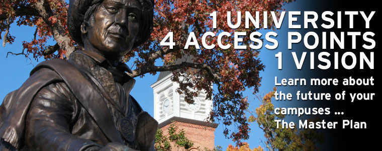 1 university, 4 access points, 1 vision. Learn more about the future of your campuses